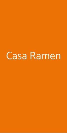 Casa Ramen, Milano