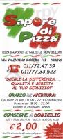 Sapore Di Pizza, Torino