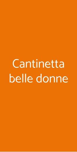Cantinetta Belle Donne, Milano