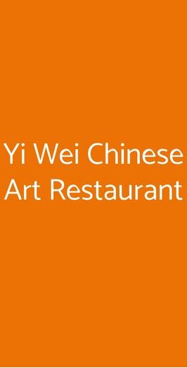 Yi Wei Chinese Art Restaurant, Genova
