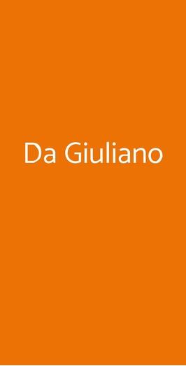 Da Giuliano, Milano