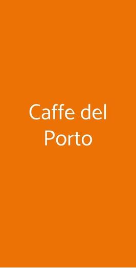 Caffe Del Porto, Santa Margherita Ligure