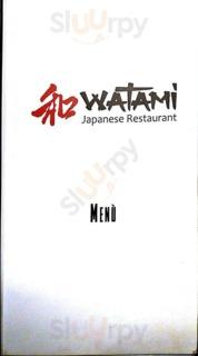 Menu Watami