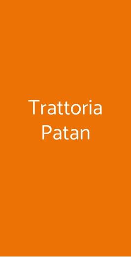 Trattoria Patan, Genova
