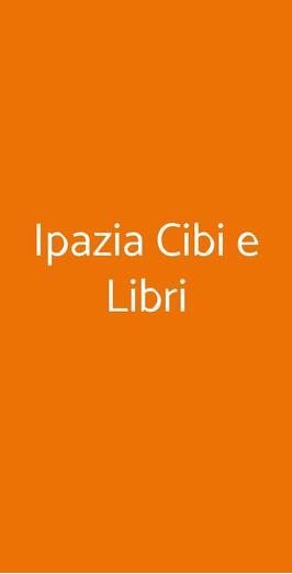 Ipazia Cibi E Libri, Sanremo