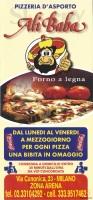 Pizzeria Ali Babà, Milano