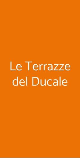 Le Terrazze Del Ducale A Genova Menù Prezzi Recensioni