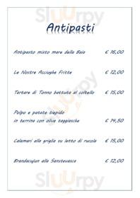 Menu Baia Azzurra Beach & Restaurant