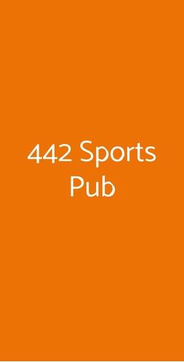 442 Sports Pub, Milano