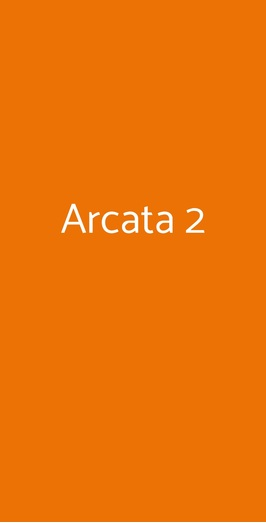Arcata 2, Milano