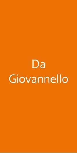 Da Giovannello, Cusano Milanino