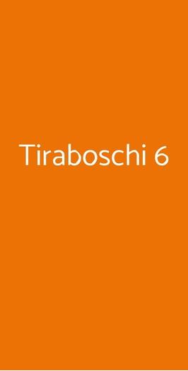 Tiraboschi 6, Milano