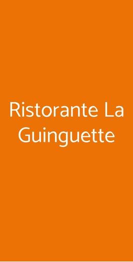 Ristorante La Guinguette, Milano