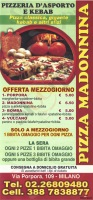 Pizza Madonnina, Milano