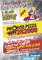 Pronto Pizza, Siena