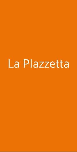 Menu La PIazzetta