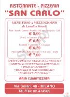San Carlo, Milano