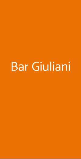 Bar Giuliani, Como
