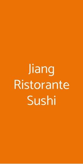 Jiang Ristorante Sushi, Milano