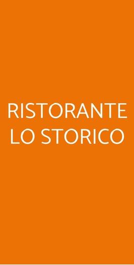 Ristorante Lo Storico, Como