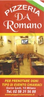 Da Romano, Milano