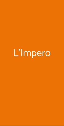 L'impero, Laveno-Mombello
