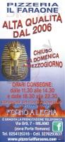 Il Faraone, Milano