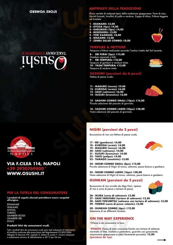 'o Sushi, Napoli