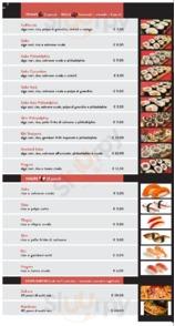 Menu Mak'Italia Temakeria e Sushi