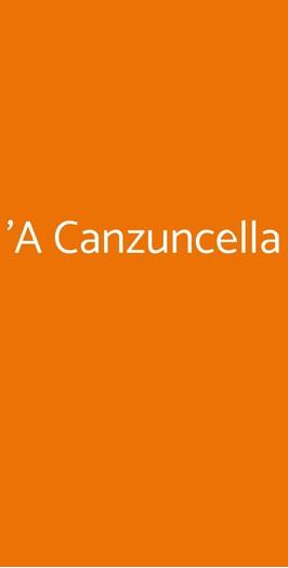 'a Canzuncella, Napoli