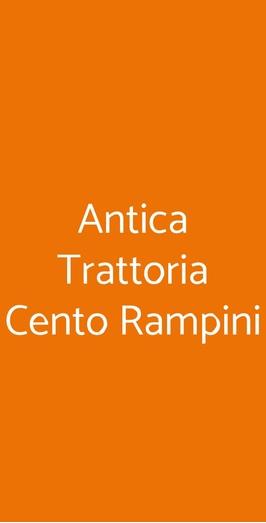 Antica Trattoria Cento Rampini, Mantova