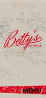 Menu Betty's