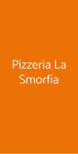 Pizzeria La Smorfia, Milano