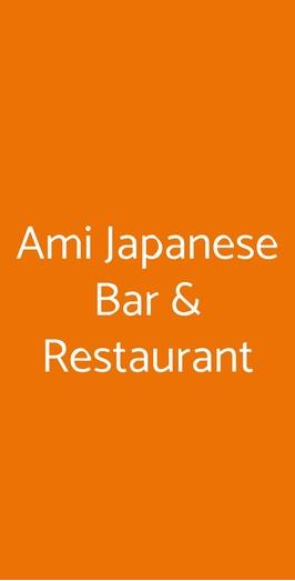 Ami Japanese Bar & Restaurant, Torre del Greco