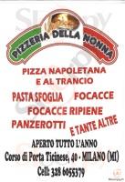 Pizzeria Della Nonna, Milano