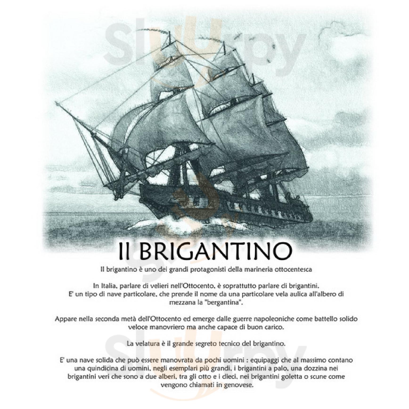 Il Brigantino Civitanova Marche menù 1 pagina