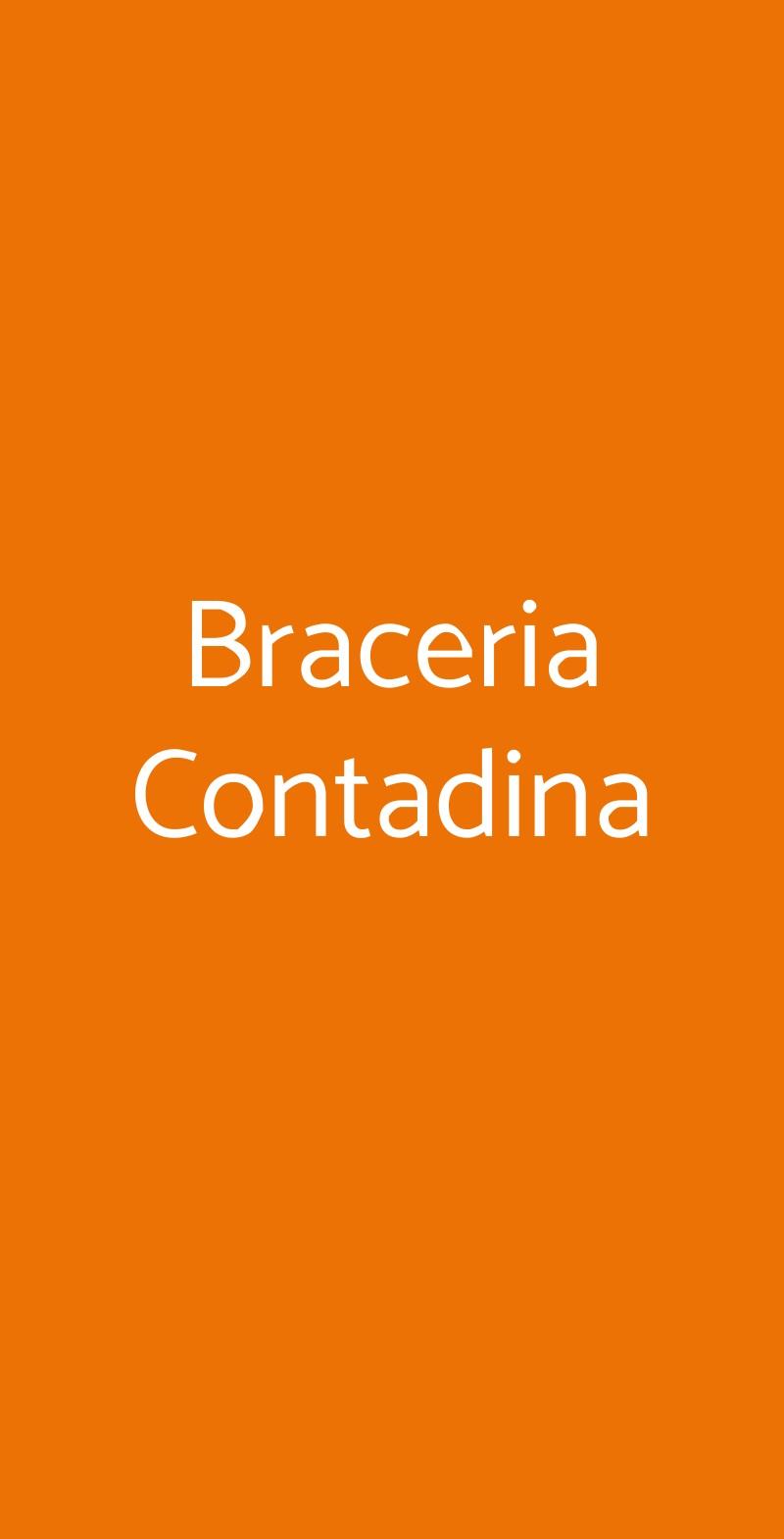 Braceria Contadina Marcaria menù 1 pagina