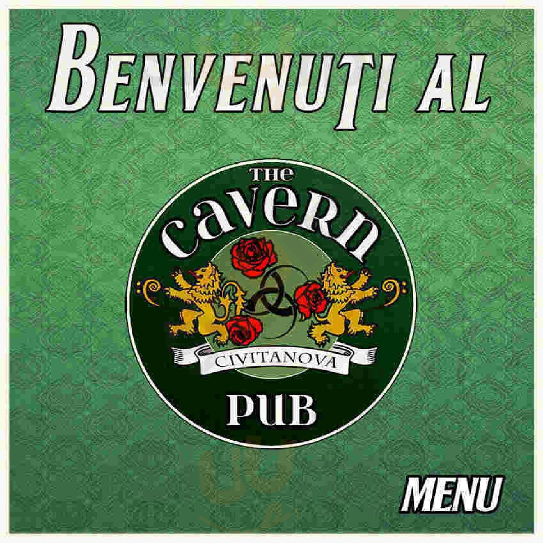 The Cavern Pub Civitanova Marche menù 1 pagina