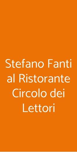 Ristorante Circolo Dei Lettori, Torino