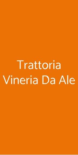 Trattoria Vineria Da Ale, Torino