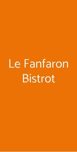 Le Fanfaron Bistrot, Torino