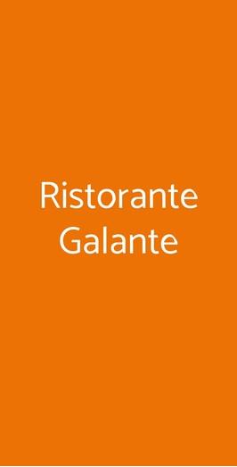 Ristorante Galante, Torino