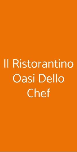 Il Ristorantino Oasi Dello Chef, Alpignano