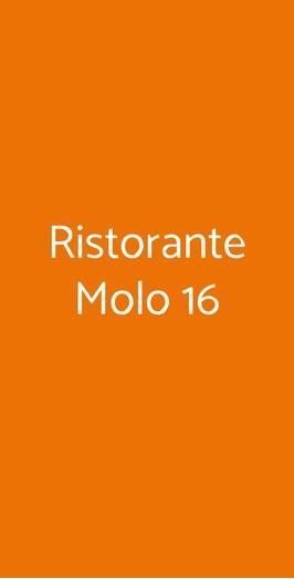 Ristorante Molo 16, Torino
