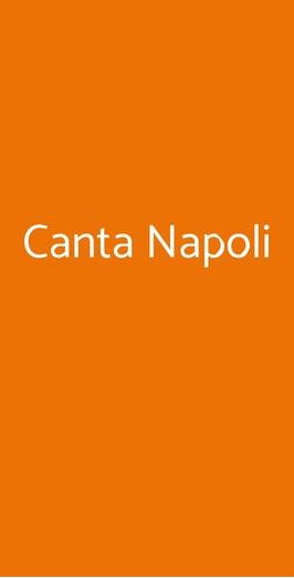 Canta Napoli, Napoli