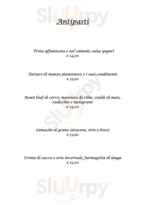 Menu Battipalo