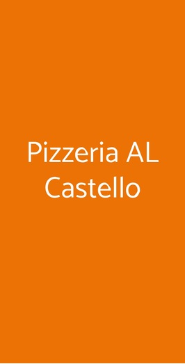 Pizzeria Al Castello, Alessandria
