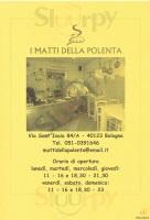 I Matti Della Polenta, Bologna
