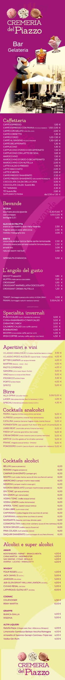 Cremeria Del Piazzo, Biella