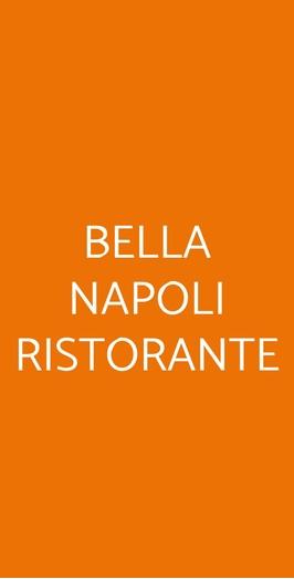 Bella Napoli Ristorante, Foggia